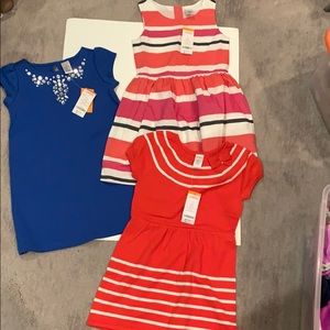 Other - Gymboree girls new dresses size 6 brand new x 3